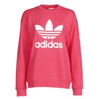 Vêtements Femme Sweats adidas Originals TRF CREW SWEAT Rose