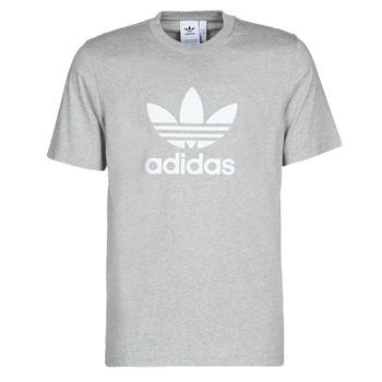 Vêtements Homme T-shirts manches courtes adidas Originals TREFOIL T-SHIRT Bruyère gris moyen