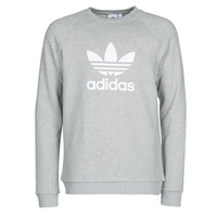 Vêtements Homme Sweats adidas Originals TREFOIL CREW Bruyère gris moyen