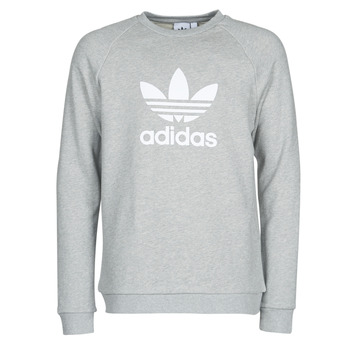 Vêtements Homme Sweats adidas Originals TREFOIL CREW Gris