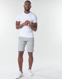 Vêtements Homme Shorts / Bermudas adidas Originals 3-STRIPE SHORT Gris
