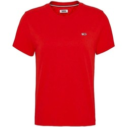 Vêtements Femme T-shirts manches courtes Tommy Jeans TJW TOMMY CLASSICS TEE rouge