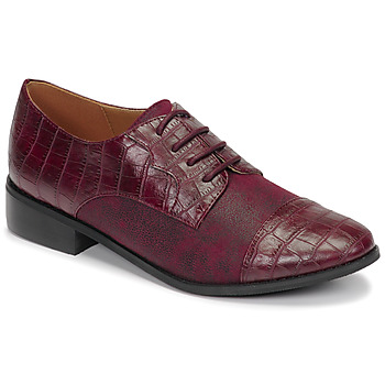 Chaussures Femme Derbies Moony Mood NOULESSE Bordeaux