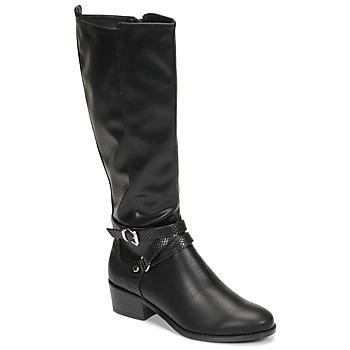 Chaussures Femme Bottes ville Moony Mood NELLE Noir
