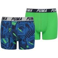 Sous-vêtements Garçon Boxers Puma AOP bleu
