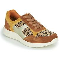 Chaussures Femme Baskets basses Damart 62328 Beige / Jaune