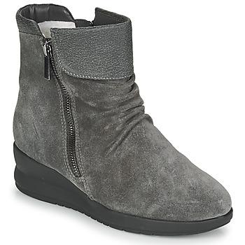 Chaussures Femme Boots Damart 64305 Gris