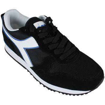 Chaussures Homme Baskets basses Diadora olympia 80013 Noir