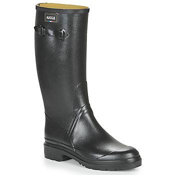 Chaussures Homme Bottes de pluie Aigle CESSAC Black