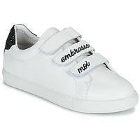 Chaussures Femme Baskets basses Bons baisers de Paname EDITH EMBRASSE MOI Blanc