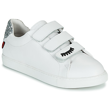 Chaussures Femme Baskets basses Bons baisers de Paname EDITH EYES Blanc