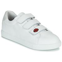 Chaussures Femme Baskets basses Bons baisers de Paname EDITH LEGENDE Blanc