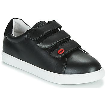 Chaussures Femme Baskets basses Bons baisers de Paname EDITH LEGENDE Noir