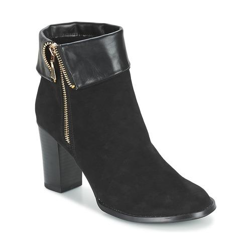 Chaussures Femme Bottines Moony Mood FRISETTE Noir