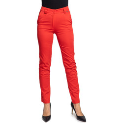 Vêtements Femme Chinos / Carrots Akè F646XALP6684 rouge