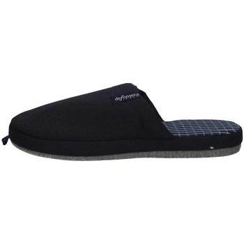 Chaussures Homme Chaussons De Fonseca ROMA TOP E M621 BLEU