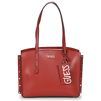 Sacs Femme Cabas / Sacs shopping Guess TIA GIRLFRIEND CARRYALL Rouge