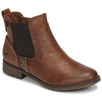 Chaussures Femme Boots Mustang 1265501 Marron