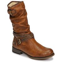 Chaussures Femme Bottes ville Mustang 1139624 Cognac