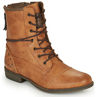 Chaussures Femme Boots Mustang 1157508 Camel