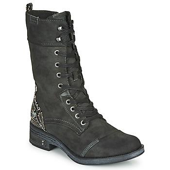 Chaussures Femme Boots Mustang 1293519 Gris