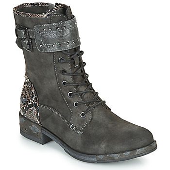 Chaussures Femme Boots Mustang 1332506 Gris