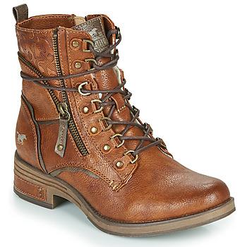 Chaussures Femme Boots Mustang 1293601 Cognac
