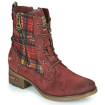 Chaussures Femme Boots Mustang 1229512 Bordeaux
