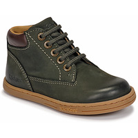 Chaussures Garçon Boots Kickers TACKLAND Kaki