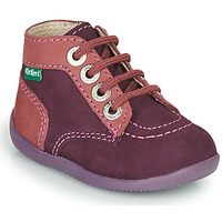 Chaussures Fille Boots Kickers BONZIP-2 Violet / Rose
