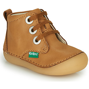 Chaussures Enfant Boots Kickers SONIZA Camel