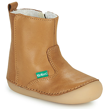 Chaussures Fille Boots Kickers SOCOOL CHO Camel