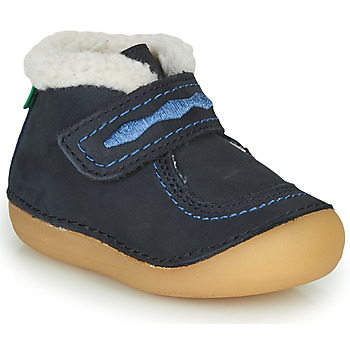 Chaussures Fille Boots Kickers SOETNIC Marine