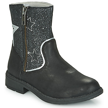 Chaussures Fille Boots Kickers NYRMAN Noir