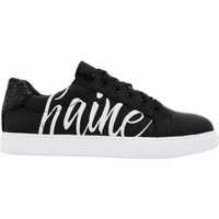 Chaussures Femme Baskets mode Bons Baisers De Paname Simone Amour/haine Noir Noir