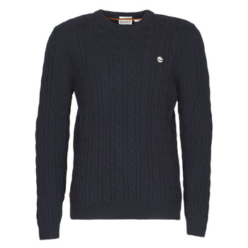 Vêtements Homme Pulls Timberland LAMBWOOL CABLE Marine