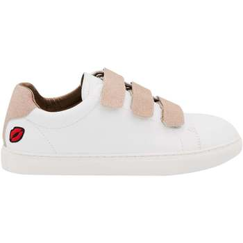 Chaussures Femme Baskets basses Bons Baisers De Paname Edith Blanc/gold BLANC