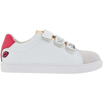 Chaussures Femme Baskets basses Bons Baisers De Paname Edith Barbie No Ken No Problem BLANC