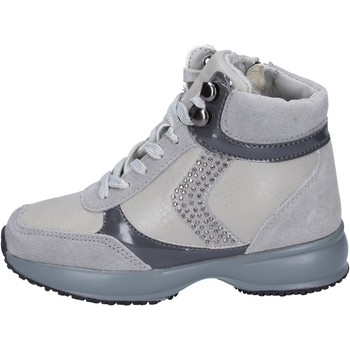 Chaussures Fille Baskets basses Lumberjack sneakers daim gris