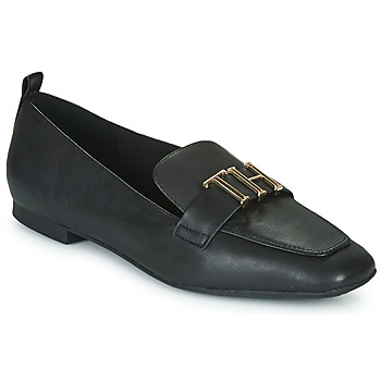 Chaussures Femme Mocassins Tommy Hilfiger POLISHED TOMMY LOAFER Black