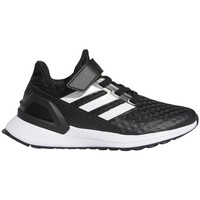 Chaussures Enfant Running / trail adidas Originals Rapidarun Blanc, Noir