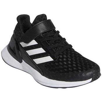 Chaussures Enfant Running / trail adidas Originals Rapidarun Blanc,Noir