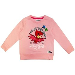 Vêtements Fille Sweats Les Pyjamasques Pyjamasques Pull Fille - Sweat Shirt Rose Rose