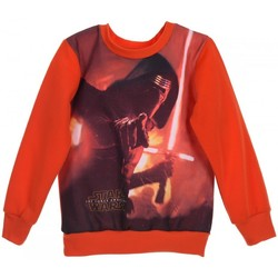 Vêtements Garçon Sweats Disney Sweat-shirt garçon - Pull Garçon ROUGE Rouge