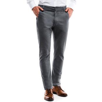 Vêtements Homme Chinos / Carrots Monsieurmode Pantalon chino pour homme Chino P853 gris Gris