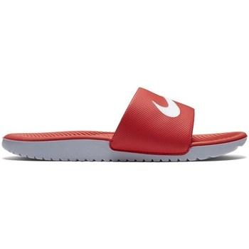 Chaussures Enfant Claquettes Nike Kawa Slide Gsps Rouge