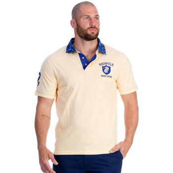 Vêtements Homme Polos manches courtes Ruckfield Polo rugby seven jaune Orange