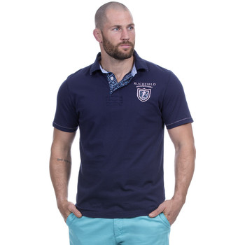 Vêtements Homme Polos manches courtes Ruckfield Polo bleu we are rugby Bleu