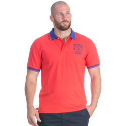 Vêtements Homme Polos manches courtes Ruckfield Polo rouge Rugby marine Rouge