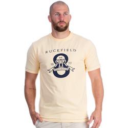 Vêtements Homme T-shirts manches courtes Ruckfield T-shirt jaune maison de rugby Orange